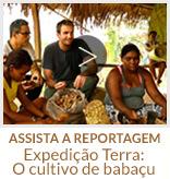ASSISTA A REPORTAGEM - Expedição Terra: O cultivo de babaçu