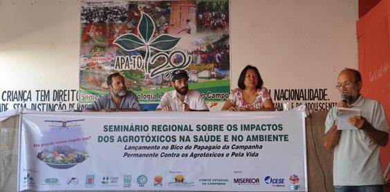 5a56cbd5e Organizações lançam Campanha Permanente Contra os Agrotóxicos e Pela ...